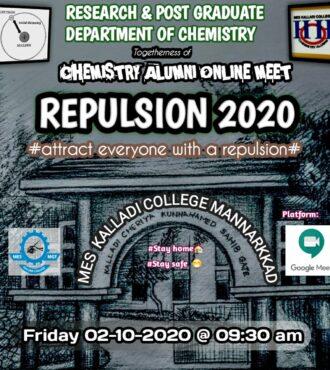 Chemistry Alumni Association Meet 2020