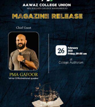 Magazine Release – PMA Gafoor
