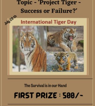 Speech Competition on International Tiger Day