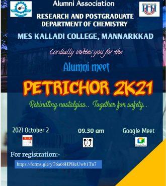 PETRICHOR 2K21 – Alumni Meet